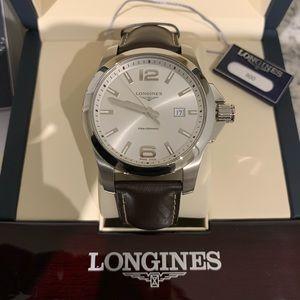 Longines Conquest Men's Quartz Watch 43 mm